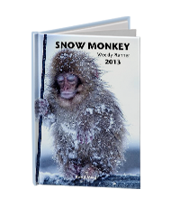 SNOW MONKEY Weekly Planner 2013